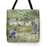 First Steps Van Gogh Tote Bag