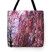 First To Flower Tote Bag