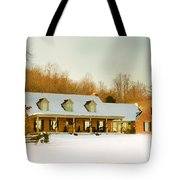 First Winter Snow Tote Bag