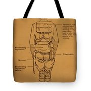 First World War Cyclist Tote Bag