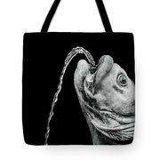 Fish Head Fountain Tote Bag