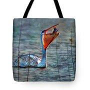Fish In Tote Bag