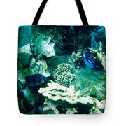Fish In The Coral Tote Bag