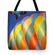 Fish In The Sky Tote Bag by Garry Gay