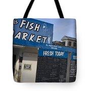 Fish Market In Hobart Tote Bag