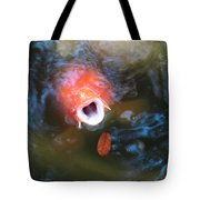 Fish Mouth Tote Bag