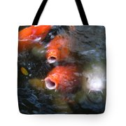 Fish Mouths 2 Tote Bag