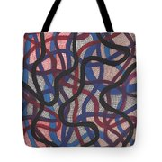 Fish Net Design Tote Bag