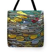 Fish Net Hdr Tote Bag