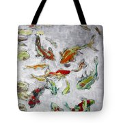 Fish Pond V2					 Tote Bag