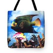 Fish Sculpture Tote Bag