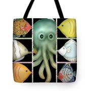 Fish Stories  Tote Bag