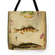 Fish Trio-c-basket Weave Tote Bag