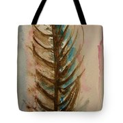 Fishbone Or Feather Tote Bag