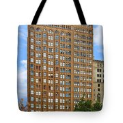Fisher Building - A Neo-gothic Chicago Landmark Tote Bag