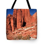 Fisher Towers Portrait Tote Bag