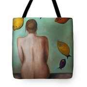 Fisher Woman Tote Bag