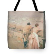 Fisherman St. Ives Tote Bag by Anders Leonard Zorn
