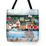 Fisherman's Cove Tote Bag