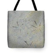 Fishermans Foot Prints Tote Bag