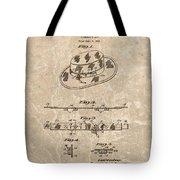 Fisherman's Hat Patent Tote Bag