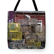 Fisherman's Shack Tote Bag
