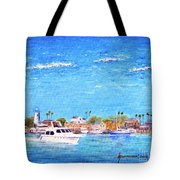 Fisherman's Village Tote Bag