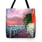 Fisherman's Village Marina Del Mar Ca Tote Bag