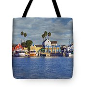 Fisherman's Village Marina Del Rey Ca Tote Bag