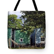 Fishermen Houses  Tote Bag
