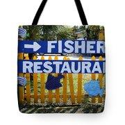 Fishery Tote Bag