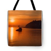 Sunset At Dash Point Tote Bag