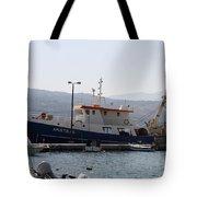 Fishing Boat Apostolos - Samos Tote Bag