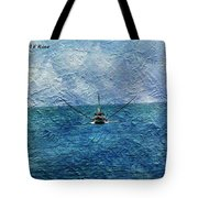Fishing Boat As A Painting 2 Tote Bag
