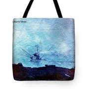 Fishing Boat As A Painting Tote Bag