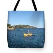 Fishing Boat - Cote D'azur Tote Bag
