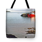 Fishing Boat Intwillingate Harbour-nl Tote Bag