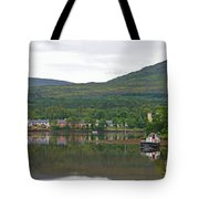 Fishing Boat On Kenmare River West Kerry Tote Bag