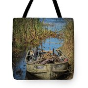 Opening Day Hunting Boat Tote Bag