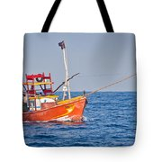 Fishing Boat  Sri Lanka Tote Bag