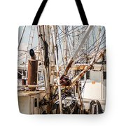 Fishing Boats Equipment Chaos Tote Bag
