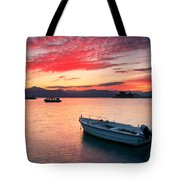 fishing boats 'II Tote Bag