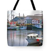 Fishing Boats In Branch-nl Tote Bag