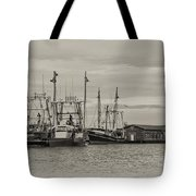 Fishing Boats - Wildwood New Jersey Tote Bag