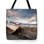 fishing boats 'XVI Tote Bag