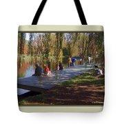 Fishing Contest - Easton Waterfowl Festival Tote Bag