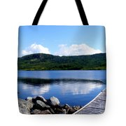 Fishing Day - Calm Waters - Digital Painting Tote Bag