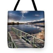 Fishing Dock Tote Bag
