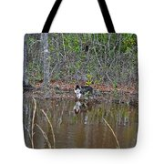 Fishing Feline Tote Bag