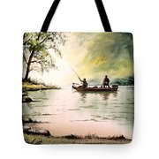 Fishing For Bass - Greenbrier River Tote Bag